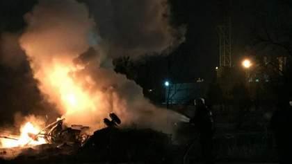 Авария вертолета в Кременчуге: спасатели уточнили количество погибших