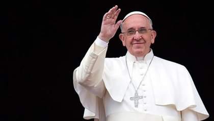 Папа Римский рассказал, что молится на украинском