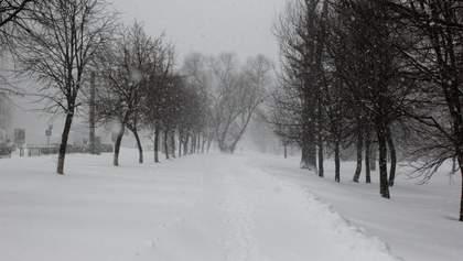 Снежная непогода в Украине снова набирает обороты