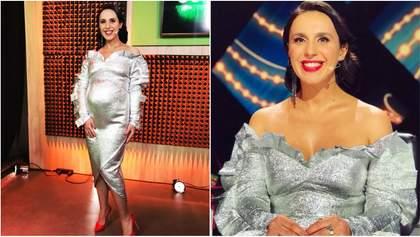 Джамала продемонструвала великий округлий живіт у розкішній сукні: фото