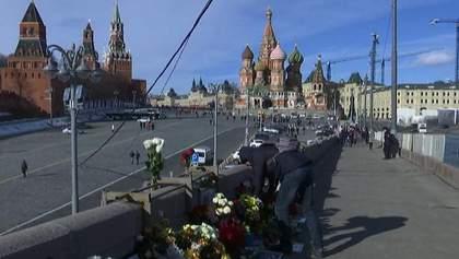 У Москві збираються провести марш пам'яті Бориса Нємцова