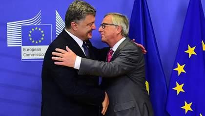 Порошенко встретился с Юнкером в Мюнхене: названы темы разговора