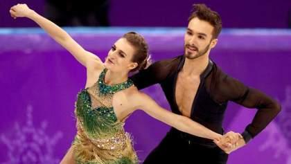 Конфуз на Олімпіаді: у фігуристки розстібнулась сукня і випадково оголились груди
