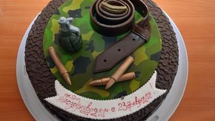 Торт с гранатой, шампанское и Королевская: в Славянске отметили 23 февраля