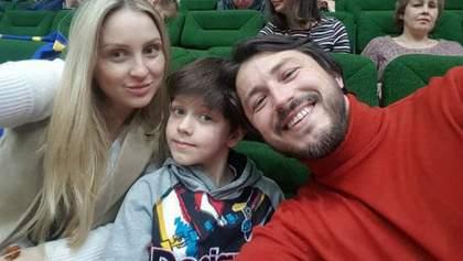 Притула зворушив сімейним фото з двома дітьми