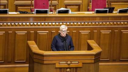 Рада не будет увольнять Гонтареву 1 марта