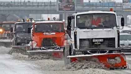 Несмотря на снегопад – на дорогах Киева практически 100% коммунального транспорта, –Белоцерковец