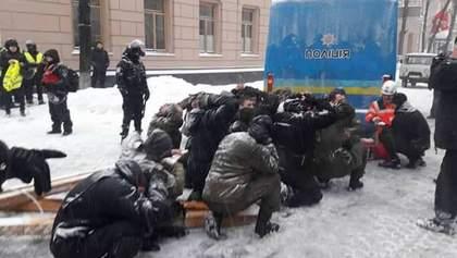 Разгон палаточного городка под Радой: эмоциональная реакция Саакашвили