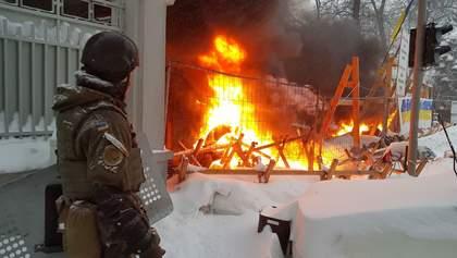 В МВД сообщили о 7 пострадавших полицейских в столкновениях под Радой