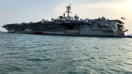 Авіаносець США вперше за 43 роки ввійшов до порту В'єтнаму
