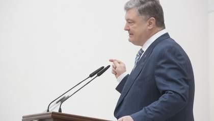 Порошенко просит страны ЕС предоставить Украине оборонительное летальное оружие