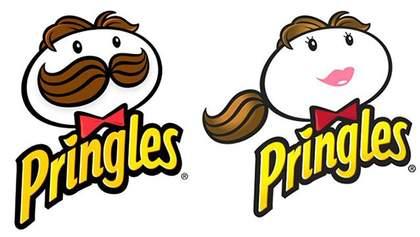 Известные логотипы переделали на женские версии: фотосравнение