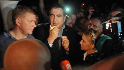 Саакашвили прояснил, когда вернется в Украину