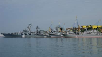 В Азовском море активизировались корабли Черноморского флота