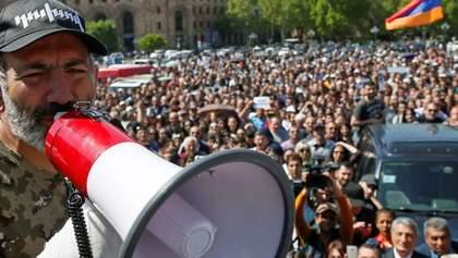 Протести проти чинного уряду спалахнули ще в одному місті Вірменії