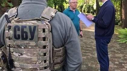 Обшук у Симоненка: СБУ вилучила пістолет і агітки