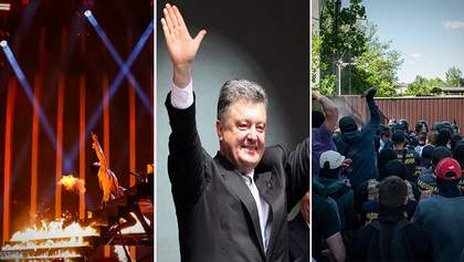 """Головні новини 10  травня: зустріч Порошенка, скандал з """"Інтером"""", Євробачення-2018"""