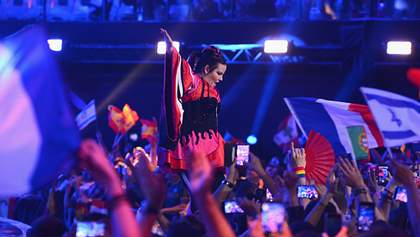 Как Нетта отреагировала на свою победу на Евровидении-2018: эмоциональное видео