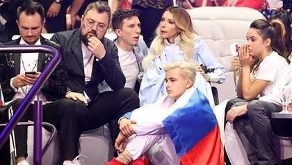 В России обвинили Украину в провале Самойловой на Евровидении 2018