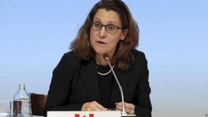 В Канаде осудили открытие Крымского моста
