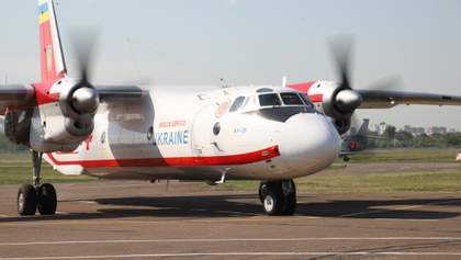 Український літак вилетів за дітьми, які постраждали в ДТП у Білорусі