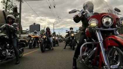 На мотофестиваль в Черкассах съехались 8 тысяч байкеров