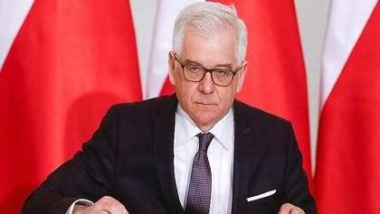 Глава МИД Польши сделал серьезное заявление о скандальном антибандеровском законе