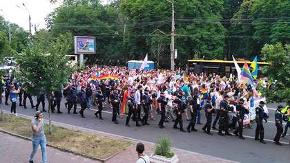 После столкновений и многочисленных задержаний в Киеве завершился Марш равенства: фото и видео