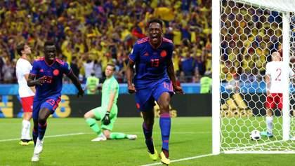 Польща – Колумбія: відео голів та моментів матчу Чемпіонату світу