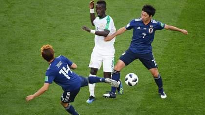 Японія та Сенегал зіграли у нічию на Чемпіонаті світу