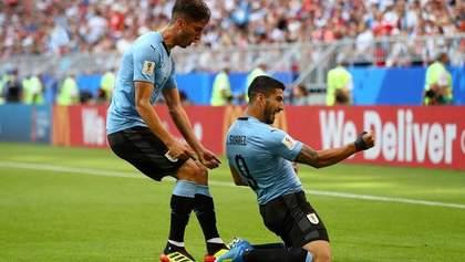 Уругвай – Росія: відео голів та моментів матчу