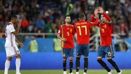 Испания спасла ничью против Марокко на последней минуте матча