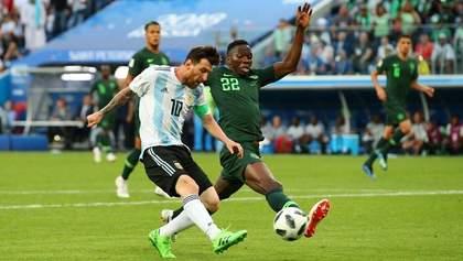 Нигерия – Аргентина: видео голов и моментов матча