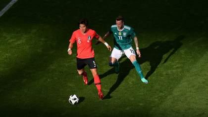Германия сенсационно вылетела с Чемпионата мира, не сумев обыграть Южную Корею