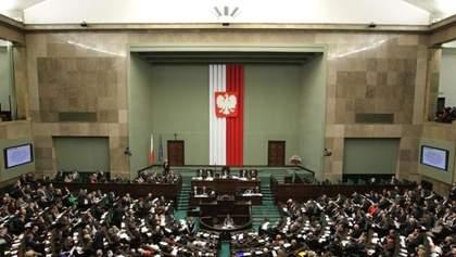 """Парламент Польши изменил """"антибандеровский закон"""""""