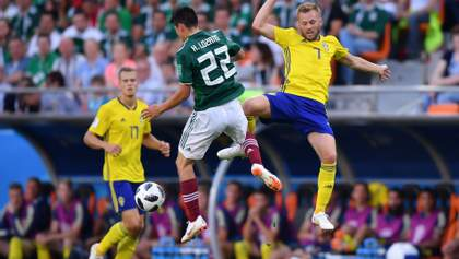 Мексика – Швеция: видео голов и моментов матча Чемпионата мира