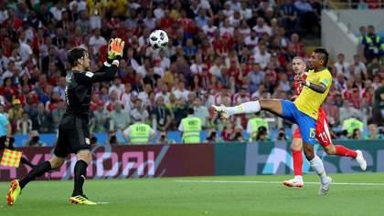Сербия – Бразилия: видео голов и моментов матча