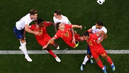 Бельгия победила Англию на Чемпионате мира благодаря невероятному голу Янузая