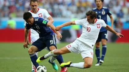 Япония – Польша: видео голов и моментов матча