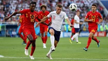 Англія – Бельгія: відео голу та моментів матчу