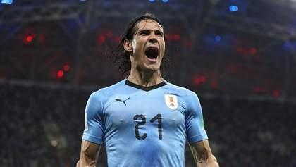 Уругвай победил Португалию в 1/8 Чемпионата мира по футболу