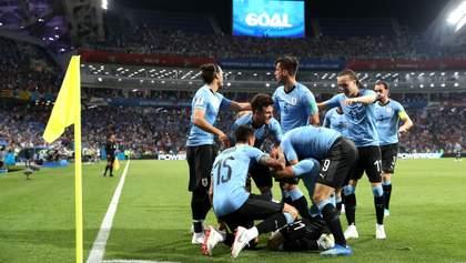 Уругвай – Португалія: відео голів та моментів матчу