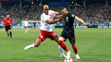 Хорватия в серии пенальти вырвала победу у Дании в 1/8 ЧМ-2018