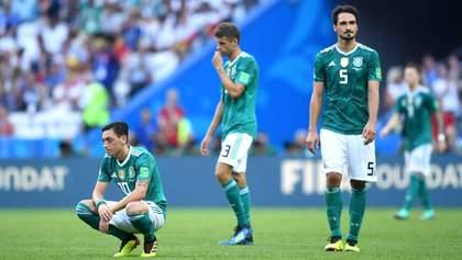 Вылет сборной Германии с Чемпионата мира высмеяли в карикатурах