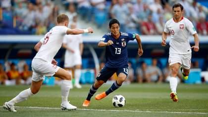 Япония проиграла Польше, но вышла в плей-офф благодаря меньшему количеству желтых карточек