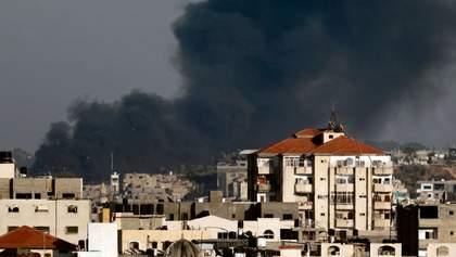 Ізраїль почав потужні обстріли позицій ХАМАС в секторі Гази