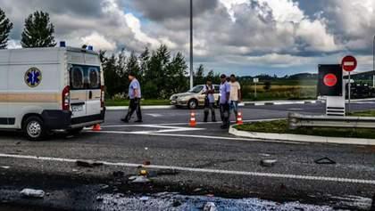 Смертельна ДТП під Житомиром: опубліковано моторошне відео перших хвилин після аварії (21+)
