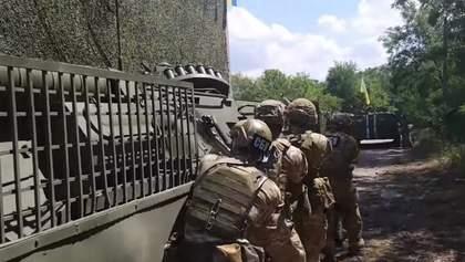 """Штурм со стороны СБУ базы """"Правого сектора"""": активисты обнародовали детали фейка"""