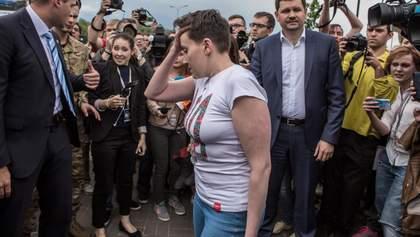 """Савченко в Апелляционном суде """"ловит момент"""""""