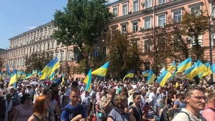 В МВД назвали количество участников Крестного хода в Киеве